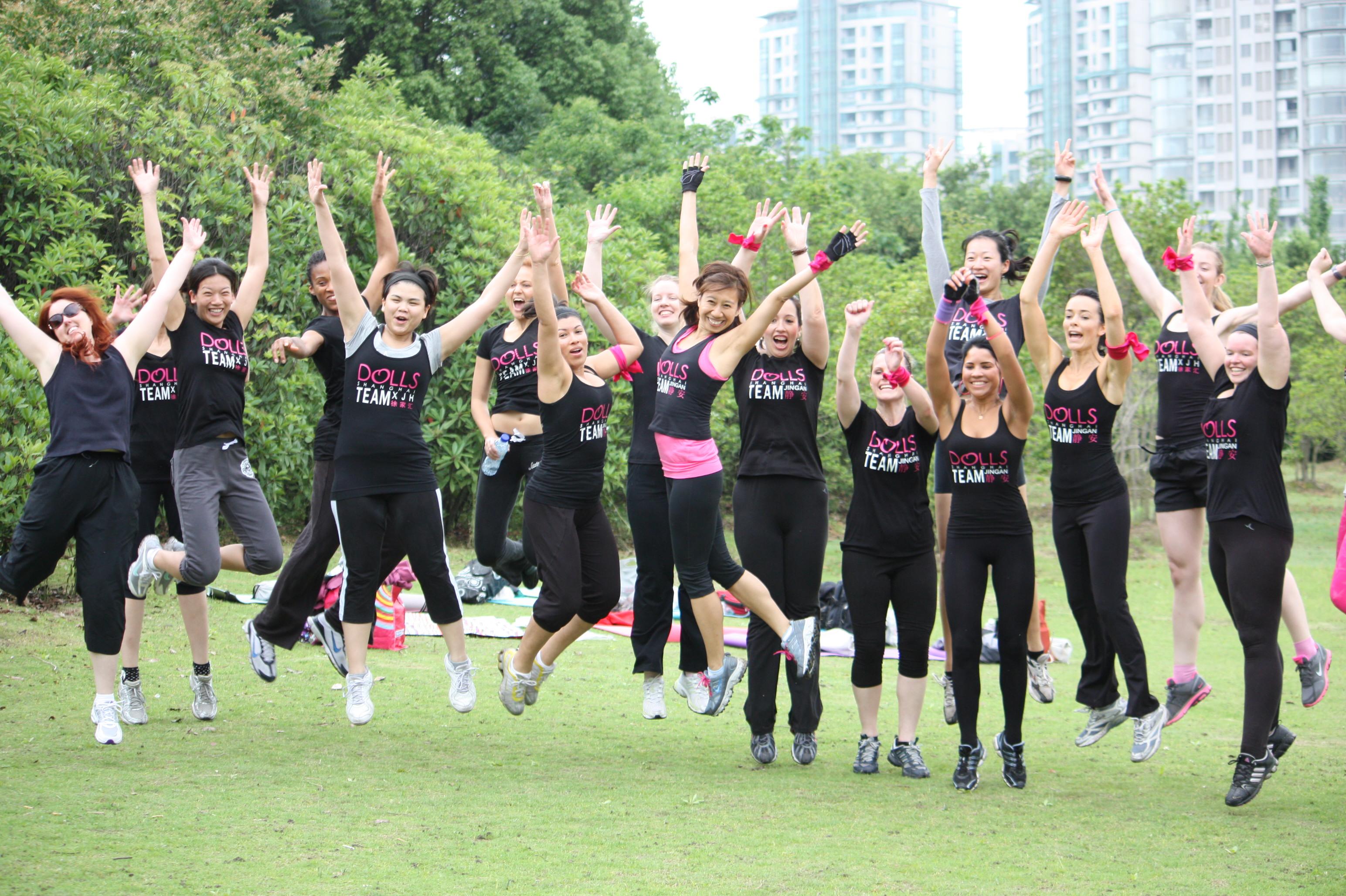 Shanghai Dolls Fitness Challenge